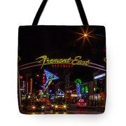 Fremont Street East Tote Bag