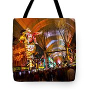 Fremont Street Experience Lights Tote Bag