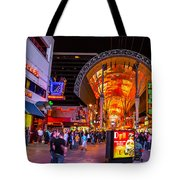 Fremont Street Lights 2 Tote Bag