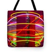 Fremont Street Neon Sphere Tote Bag