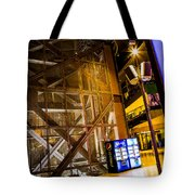 Fremont Street Structure Tote Bag