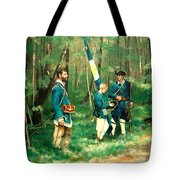 French And Indian War Tote Bag