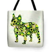 French Bulldog - Animal Art Tote Bag