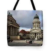 French Cathedral And Concert Hall - Berlin  Tote Bag