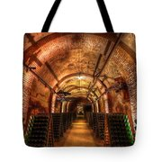 French Champagne Cellar Tote Bag