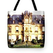 French Chateau 1955 Tote Bag