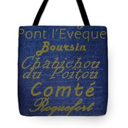 French Cheeses - 2 Tote Bag