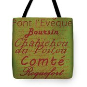 French Cheeses - 4 Tote Bag