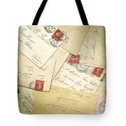 French Correspondence From Ww1 #1 Tote Bag