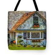 French Countryside In The Desert Tote Bag