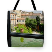 French Courtyard Tote Bag
