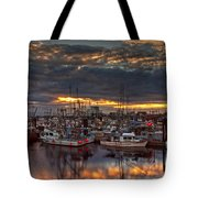 French Creek Sunrise Tote Bag