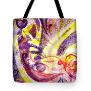 French Curve Abstract Movement II Tote Bag