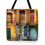 French Doors Tote Bag by Inge Johnsson