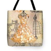French Dress Shop-c Tote Bag
