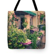 French Floral Shop Tote Bag