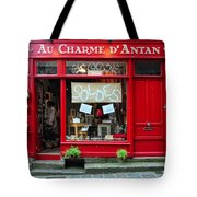 French Gift Shop Tote Bag