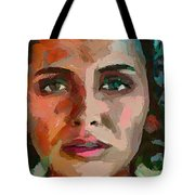 French Gypsy Girl Tote Bag