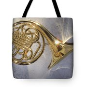 French Horn Iv Tote Bag