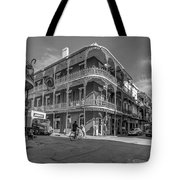 French Quarter Afternoon Bw Tote Bag by Steve Harrington