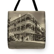French Quarter Afternoon Sepia Tote Bag