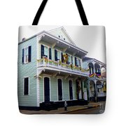 French Quarter Architecture Tote Bag