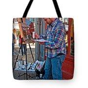 French Quarter Artist Tote Bag by Steve Harrington
