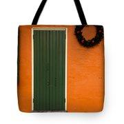 French Quarter Door - 33 Tote Bag