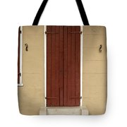 French Quarter Door - 34 Tote Bag