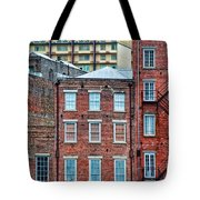 French Quarter Facades New Orleans Tote Bag
