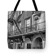 French Quarter Flair Bw Tote Bag