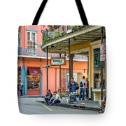 French Quarter - Hangin' Out Tote Bag