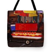 French Quarter Late At Night Tote Bag