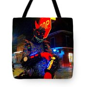 French Quarter Monster  U Have The Time Tote Bag