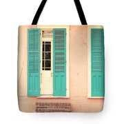 French Quarter Pastel Colours  Tote Bag