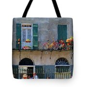 French Quarter Stroll 2 - New Orleans Tote Bag