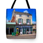 French Quarter Stroll New Orleans Tote Bag