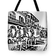 French Quarter - The Final Ride Tote Bag