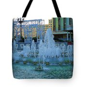 French Quarter Water Fountain Tote Bag