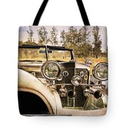 French Romantic Tote Bag