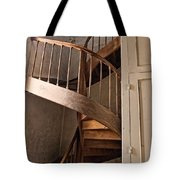 French Spiral Staircase Tote Bag