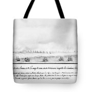 French Squadron, 1778 Tote Bag