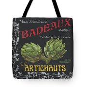 French Veggie Labels 1 Tote Bag by Debbie DeWitt