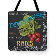 French Veggie Labels 3 Tote Bag by Debbie DeWitt