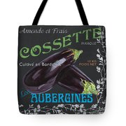 French Veggie Labels 4 Tote Bag