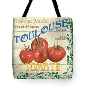 French Veggie Sign 3 Tote Bag