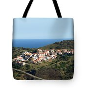 French Village By The Sea Tote Bag