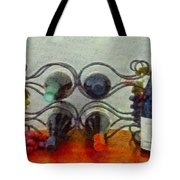 French Wine Rack Tote Bag