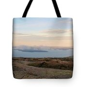 Frenchmans Bay From Cadillac Mountain Tote Bag