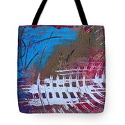 Frequency Static Tote Bag